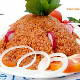 Bulgur Tomato Pilaf (Sayet)