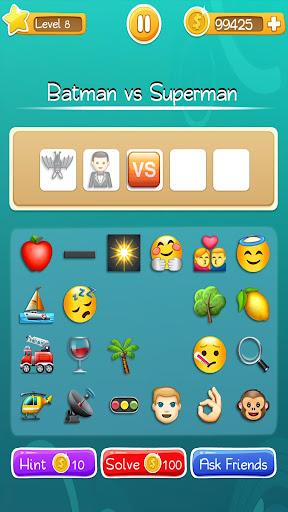 Words to Emojis u2013 Best Emoji Guessing Quiz Game  gameplay | by HackJr.Pw 3