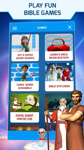 Superbook Kids Bible, Videos & Games (Free App) v1.8.4 screenshots 1