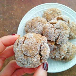 Chewy Ginger Molasses Cookies (vegan Friendly)
