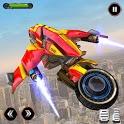 Flying Robot Bike Transform - Robot Bike games icon