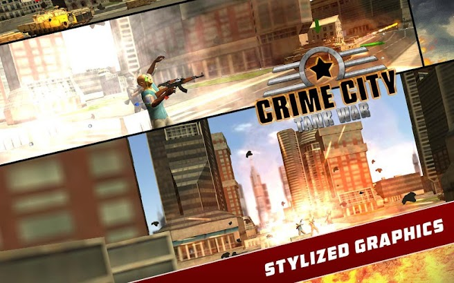 Crime City: Tank Warrior screenshot