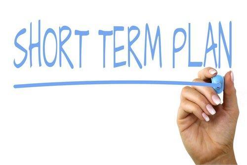 Have a Short-Term Plan