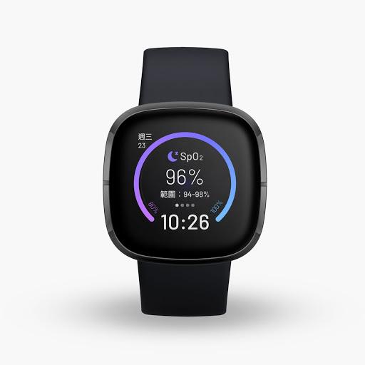 Sense (採用石墨色不鏽鋼材質,碳黑色錶帶)