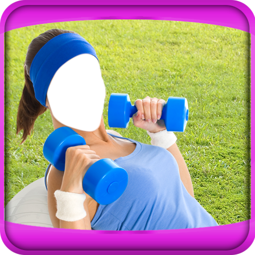 Fitness Girls Photo Montage app (apk) free download for Android/PC/Windows
