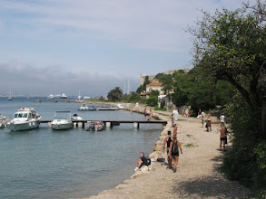 Photo: St Marguerite (St Marguerite Island) It only takes a 15-minute boat ride from Cannes to get there but it took