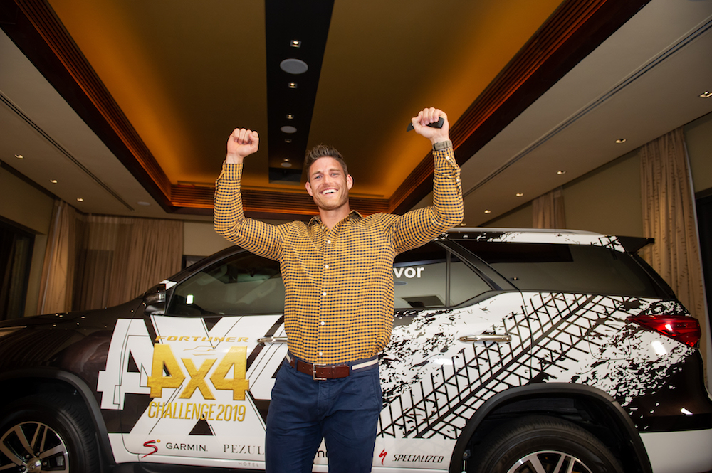 Toyota Fortuner 4x4 challenge crowns new winner at the end of day two