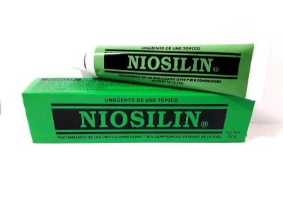 Ácidos salicílico y Benzoico Niosilin Unguento 20g Medivigor