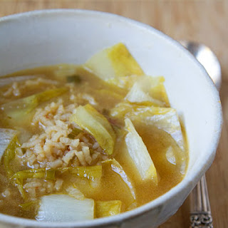 Endive Rice Soup
