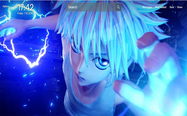 JUMP Force Wallpapers NewTab Theme