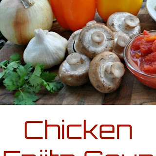Chicken Fajita Soup – Low Carb, Paleo, Gluten Free.