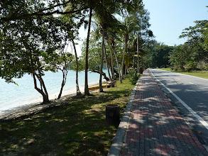 Photo: Pulau Pangkor - Pasir Bogak beach road