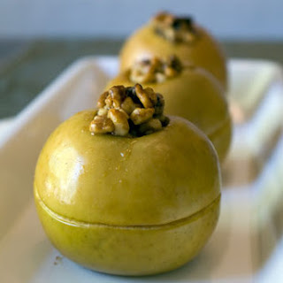 Honey Walnut Baked Apples