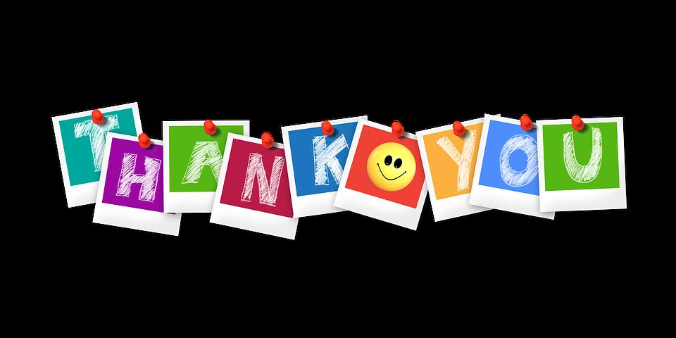 ありがとう, ポラロイド, 文字, ありがとうございました, 単語, フォント, カラフル, 色