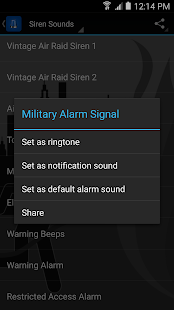 Top Siren Sounds and Ringtones screenshot