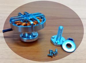 Photo: motore ideale per multirotori, leggero, efficiente, potente.
