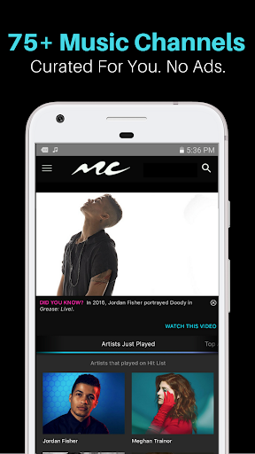 Music Choice: TV Music Channels On The Go screenshot