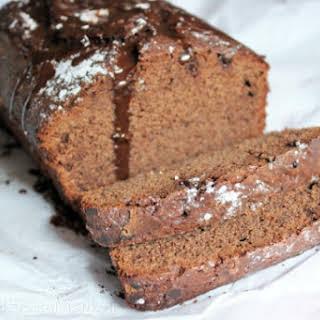 Chocolate Chai Latte Pound Cake.