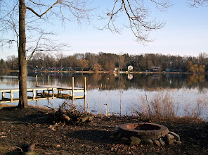 Photo: View from Cedar Lake Outdoor Center, early April