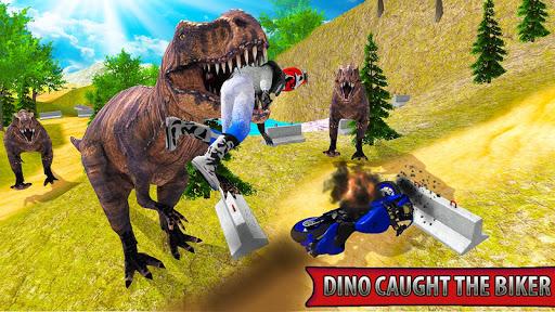Bike Racing Dino Adventure 3D  screenshots 1