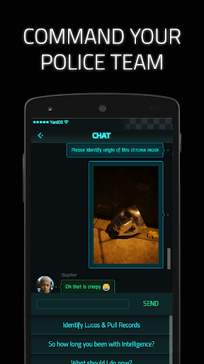 Code Triche Dead Man's Phone: Interactive Crime Drama APK MOD (Astuce) screenshots 4