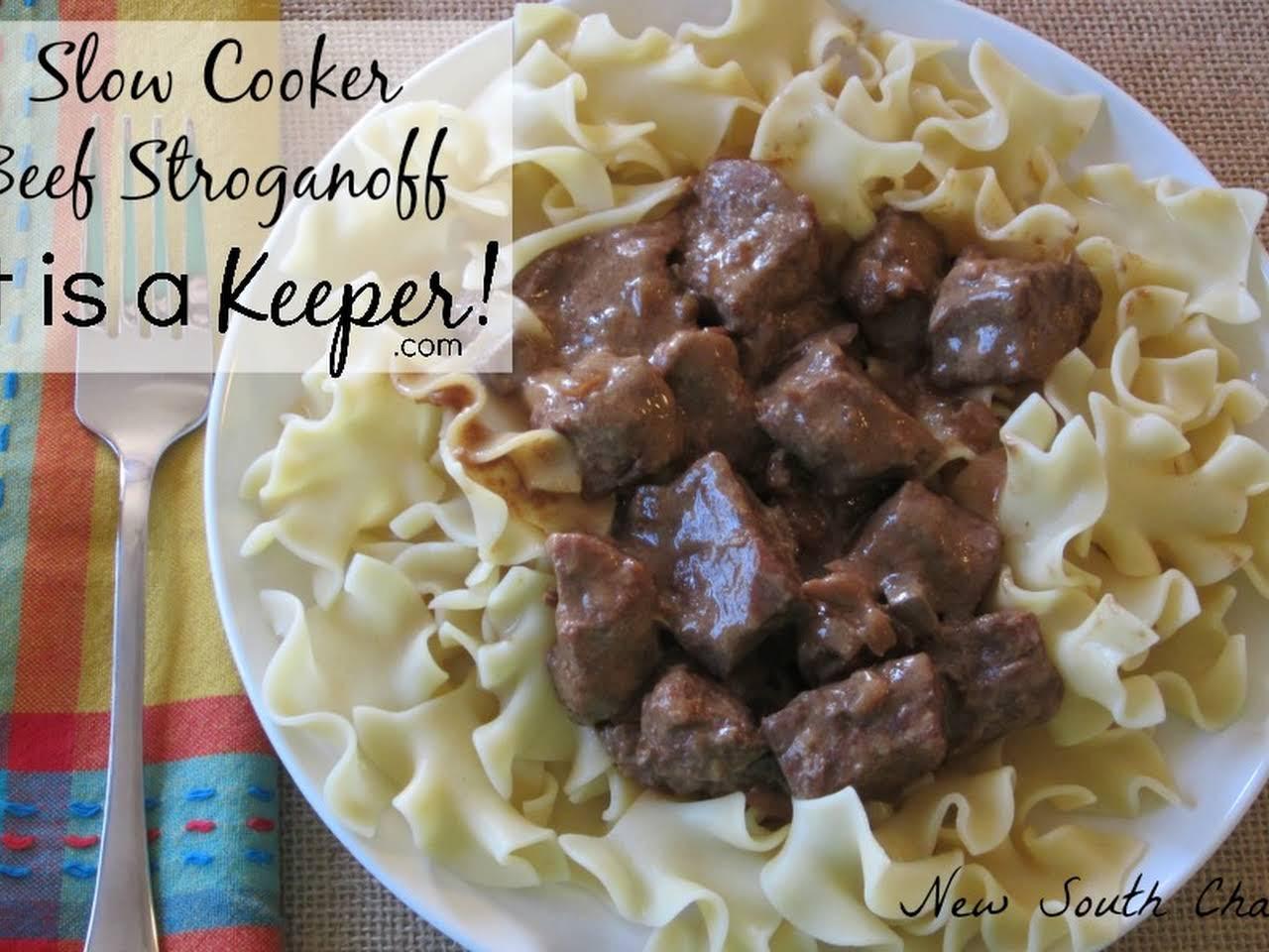 Ground Beef Stroganoff Recipe Without Cream Of Mushroom Soup