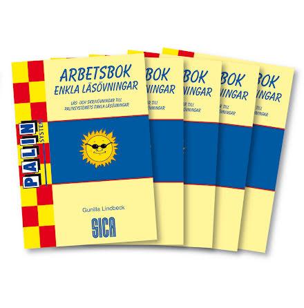 Enkla läsövningar Arbetsbok 5-pack - 7762-147-8