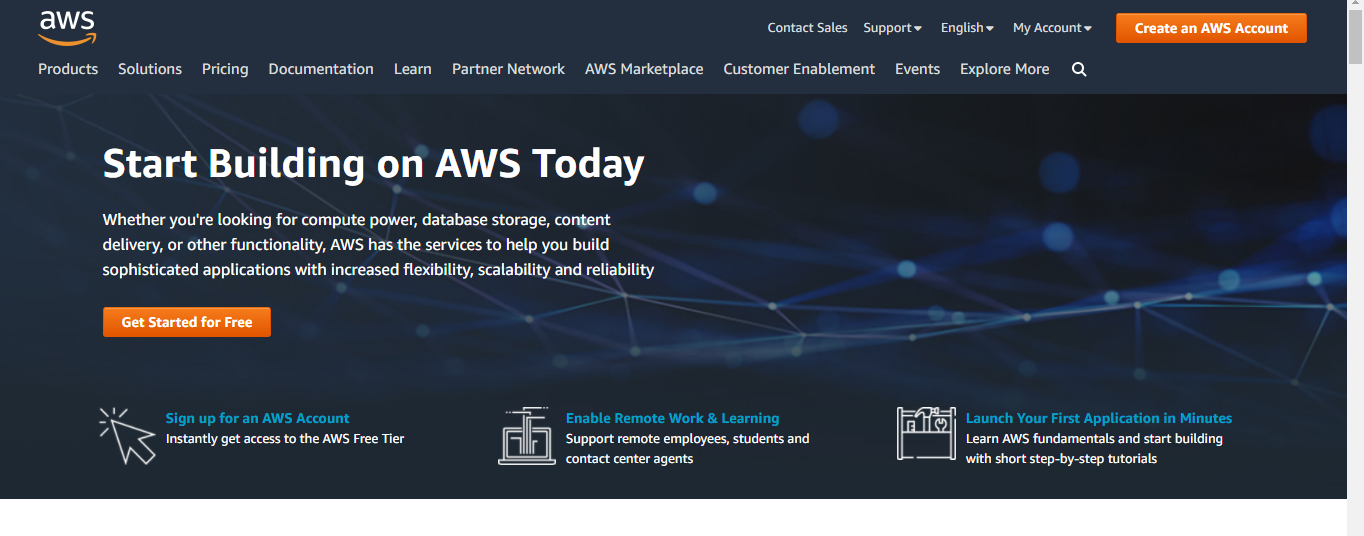 AWS is a Data Center provider