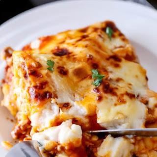 Beef and Pumpkin Lasagna Recipe