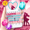 Colorful Gems Love Keyboard icon