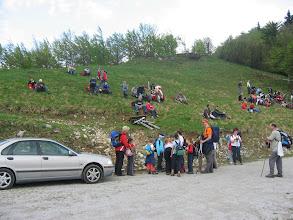 Photo: Srečanje z skupino, katera je bila na vrhu..