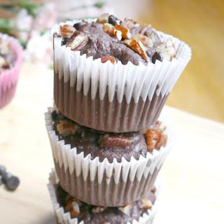 Protein Chocolate Muffins.