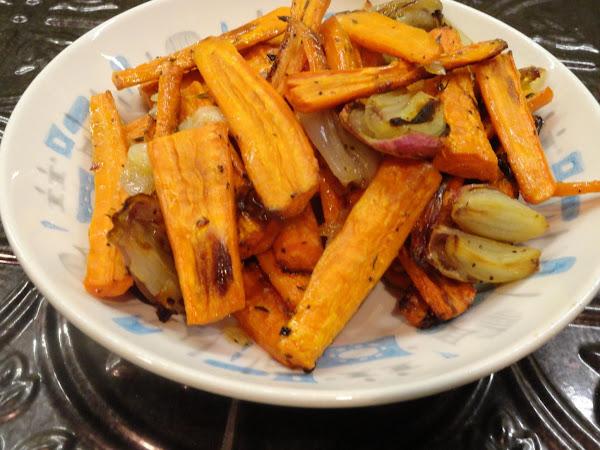 Roasted Carrots -- Thanksgiving Favorite Recipe