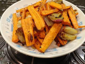 Roasted Carrots, Thanksgiving Favorite