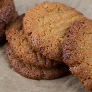 Keto Peanut Butter Cookies.