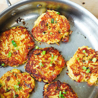 Bacon, Spaghetti Squash Fritters Recipe