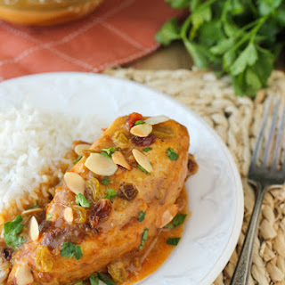 Curried Chicken Breasts in the Slow Cooker and a GIVEAWAY