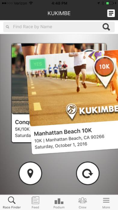 Kukimbe Race Connect- screenshot