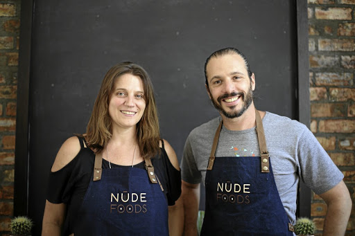 Green shopping: Bring your own glass jars, containers or bags — there's no plastic packaging at Cape Town's Nude Food store started by Sherene Kingma and Paul Rubin. Picture: SUPPLIED