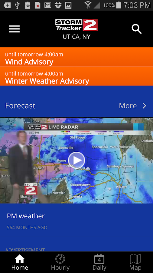 WKTV StormTracker 2 Weather- screenshot