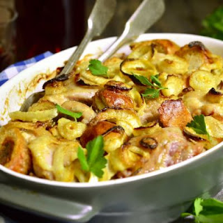 Crispy Onion And Chicken Casserole