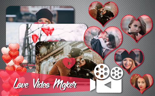 Love HD Video Maker With Music - náhled