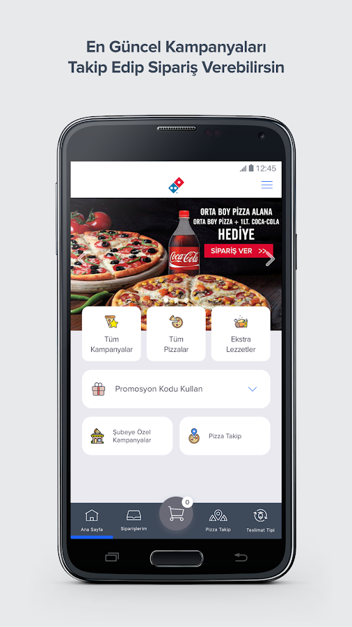 Domino's Pizza Turkey- screenshot