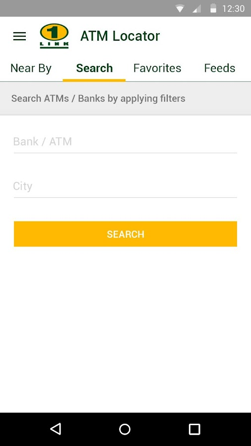1LINK ATMs Locator- screenshot