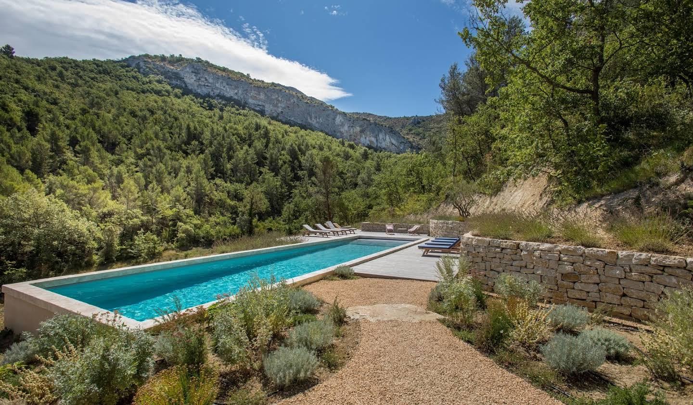 Propriété avec piscine et jardin Malaucène