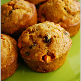 Butterscotch Pumpkin Muffins - Food Fun Friday