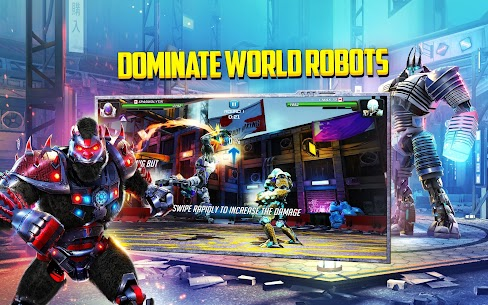 World Robot Boxing 2 Apk Mod Poder Infinito 8