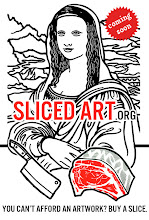 Photo: Only a BIG patron can order an HUGE artwork? No. How? You can sell an art­work by the slice. Coming soon www.slicedart.org