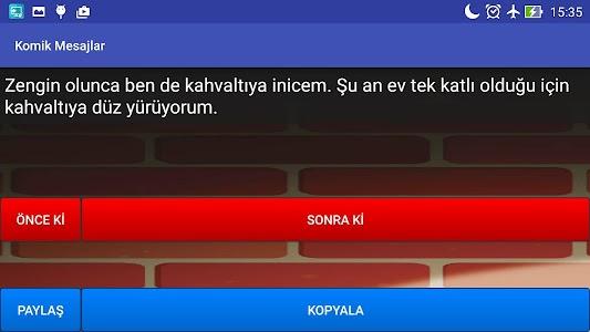 Komik Mesajlar screenshot 6