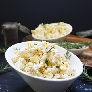 Rosemary Parmesan Popcorn With Browned Butter